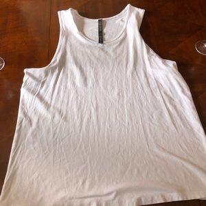 Men's white lululemon tank top